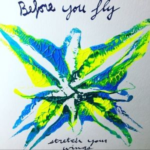 Before you fly- Abstract Art